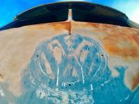 Blue sky patina
