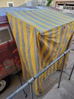 Privacy awning tent