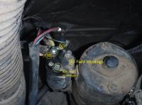 Vanagon starter wiring terminals