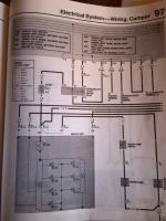 westy fridge electrical drawing