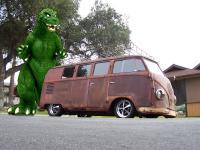 Godzilla Vs. The Jurassic Barndoor!