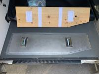 Under floor storage cover lid