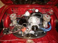 engine in '71 Ghia