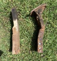 Damaged frame rail comparison