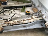 Passenger Side Cargo Area Repair