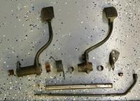 Rhd pedal assembly