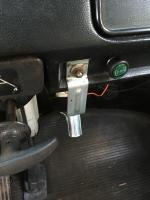 Bay bus dashboard accessory bracket