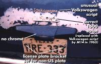 Rebus Project Notchback VIN 0002349