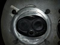 cleaned up engine parts