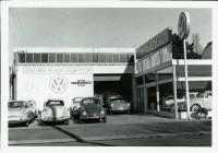 VW Dealership sign