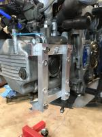 Vanagon Syncro Transmission Oil Pump Mounted On Subaru EJ22 Cylinder Head Prototype