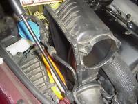 V10 Touareg Engine Air filter replacement