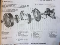 72 rear brakes