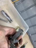 69 Bay Sliding Door Latch Mechanism