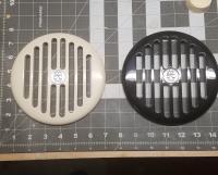 Speaker grille prototypes