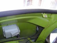 77 Westy inside of windshield