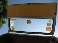 SO-42 Westy rear hatch wood panel
