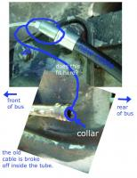 e brake cable replacement