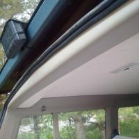 1992 Eurovan GL rear interior roofline