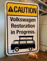 Sportsmobile Restoration Sign