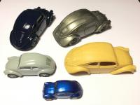 A small collection of VW30 models