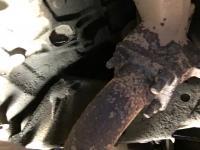 Rotten diesel muffler
