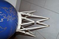 VW dealer showroom floor vase
