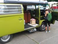 VW camping in NY- watkins glen