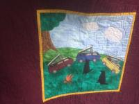 quilting for VW bus