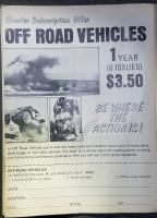 Off Road Vehicles Magazine Advertisement