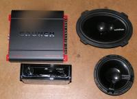 Stereo for squareback