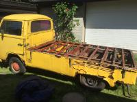 Yellow single cab