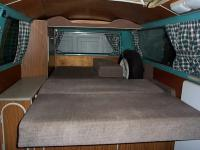 The bed in my 71 Westy