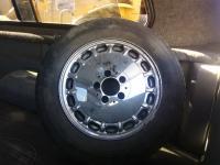 1985 Mercedes Wheels