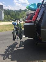 Yakima four timer bike rack