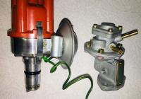 Fuel pump and distributor