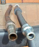 Clutch Bowden tube difference.