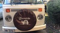 Dormobile wheel cover