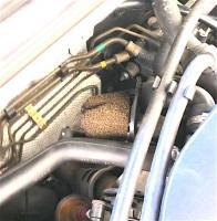 ABA VR6 Idle Control (Stabilization) Valve Filter in Damper Muffler