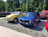Vw super beetle with bmw 2002