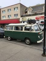 70's Bus In Jasper