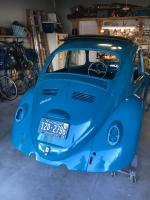 1966 Sea Blue bug