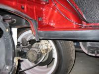 '71 Ghia engine compartment seals