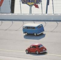 vw bus racing