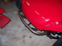 Modified Baja Bug front bumper for buggy