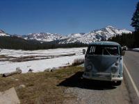 1964 VW Westfalia--Tioga Road, Yosemite National Park, CA