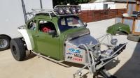 Baja Bug ecotec radiator relocation and replacement.
