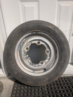 "15"" VW stamped, Riveted, KPZ, Beetle wheel from July 54 Oval"