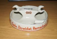 vintage GEDORE porcelain ashtray