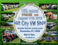 Syracuse area Salt City VW show 2019
